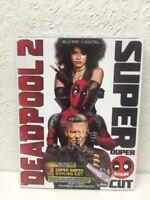 Deadpool 2 (Blu-ray + Digital, 2-Disc Super Duper Cut; 2018) NEW with Slipcover!