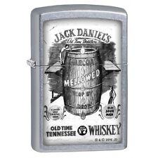 Zippo 2692, Jack Daniels Tennessee Whiskey, Street Chrome Lighter, Full Size