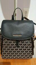 Authentic Michael Kors Evie Brown Camel Medium Backpack