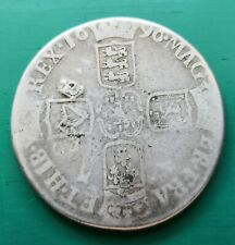 More details for 1696 william iii octavia silver crown coin #115