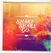 (GS704) Shake Shake Go, England Skies - 2015 DJ CD