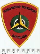 USMC 3rd Motor Transport Battalion PATCH Marines TRUCK unit! trucking 3d Motor-T