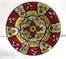 """PRE-OWNED PIER 1 """"VALLARTA"""" EARTHENWARE SALAD PLATE 9 1/8 INCHES"""