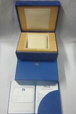 PIAGET Watch Guarantee Certificate in Book Presentation Gift Box & Outer Cartons
