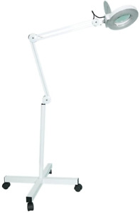 Sanqiao 5X Magnifying Vertical Lamp Floor Stand LED Lamp Stand Magnifier Lamp