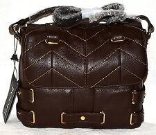 New Bodhi $598  leather Haymarket Brown Handbag Purse