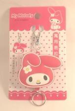 Sanrio my melody keychain/ring/Id card holder