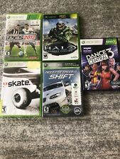 Xbox 360 Games PES 2012, Skate, Halo, Need For Speed, Dance Central