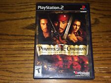 PIRATES OF THE CARIBBEAN: THE LEGEND OF JACK SPARROW (PS2, 2006) GAME COMPLETE
