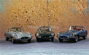 Kyosho 1/18 Jaguar E-TYPE Roadster 60th anniversary Diecast Model Car Toys Gift