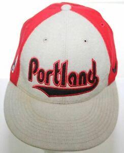 Portland Blazers 76 Nike Pro Swoosh Flex Fitted Hat Wool Cap XL Sz 7 5/8 - 7 7/8