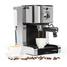 Espressomaschine Kaffemaschine Kaffeeautomat Milchaufschäumer Cappuccino Silber