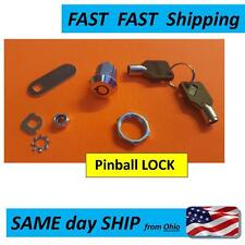Pinball Machine LOCK & Key Set - UNIVESAL