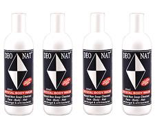 4 x 250ml DEONAT Crystal Body Wash ( Ideal for Sensitive Skin ) ( 1L total )
