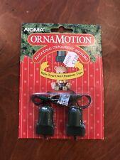 Noma Ornamotion Rotating Ornament Motors Hook #2202 Vintage Christmas New 1989