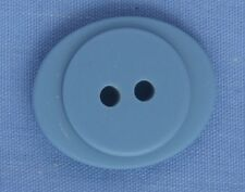 23mm Blue Oval 2 Hole Button