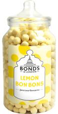 BONDS - LEMONS BON BONS - 2.1KG JAR, TRADITIONAL BOILED SWEETS