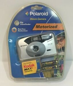 NEW Polaroid 252 BV Big Viewfinder - 35mm Camera Flash with Red-Eye Reduction