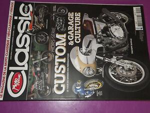 25$$ Revue Moto Revue Classic HS n°20 Custom & Garage Culture