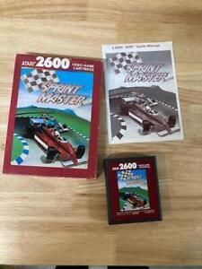 Sprint Master Atari 2600 Complete In Box