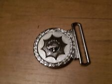 Belt Buckle  , State Police , The Netherlands ( Europe ) , Politie , Polizia