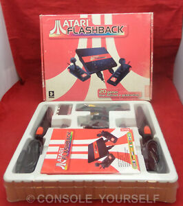 ATARI FLASHBACK MINI CONSOLE - INCLUDES 20 GAMES USED BOXED COMPLETE - UK SELLER