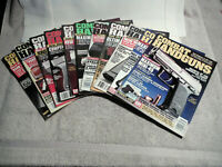 LOT of 11 COMBAT HANDGUNS MAGAZINES - 1992, 1993, 1996,1997,1998,1999 - SEE DESC