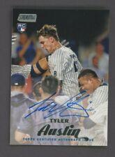 2017 Topps Stadium Club Tyler Austin RC Rookie AUTO New York Yankees