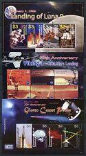 Dominica 2006 Raumfahrt Space Viking Luna Komet 3732-3745 Block 518-520 MNH