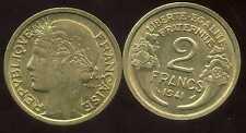 2 francs   MORLON  1941  SUP   ( bis )