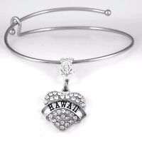 Hawaii charm Bracelet Hawaiian Gift Hawaii Bangle Hawaii Present Hawaiian