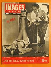 Images du Monde 123 -20/5/1947-Un expert en jolies jambes découvre la perfection