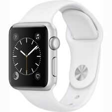 Apple Watch For Women Silver Aluminum Wristband Womens White Band 38mm Case