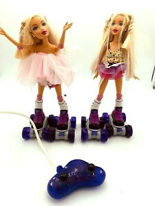 My Scene Barbie Roller Girls RC Kennedy Doll Lot *PARTS / REPAIR*