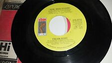 CALVIN SCOTT Goin' Back To Eden / A Sadness For Things STAX 0110 SOUL 45