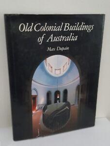 Old Colonial Buildings of Australia, Max Dupain, Methuen 1980 1st Edition HB/DJ
