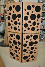 More details for gik acoustics portable isolation booth (pib) - black / beech bubbles #82
