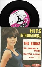 The KIinks. I'm a lover not a fighter.  Vogue DV 14331.made in France. 1965