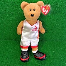 NEW Ty Beanie Baby SHAQBear NBA 10'' Over-sized Plush Toy - MWMT - FREE Shipping
