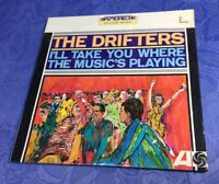 DRIFTERS (LP) I´LL TAKE YOU WHERE THE MUSIC´S PLAYING [USA 1965 **STEREO 1ST]