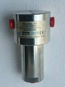 Parker Balston Model 85 Acciaio Inox Filtro Alloggiamento 0.6cm Npt 5000 Psig