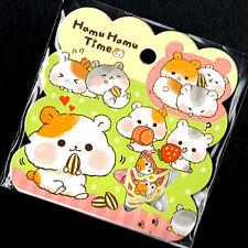 Q-lia Hamu Hamu Time Hamster Kawaii Stickers Sack sticker flakes seals
