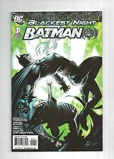 BATMAN Blackest Night #1 #2 #3  1-3   all 1st prints Full Set    9.2 NM-   DC