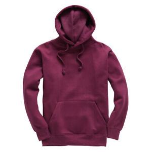 "Cotton Ridge Hoodie, Standard Premium, Size XL 46"" Plum"