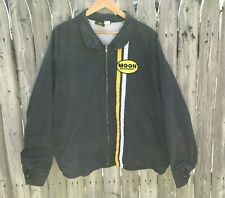 Vintage Moon Eyes Equipment Shop Jacket Xl Made In Usa Mechanics Greaser