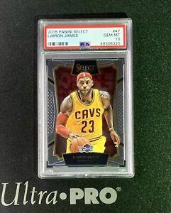 2015-16 Panini Select Basketball Lebron James #47 PSA 10