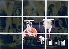 X Files Season 9 Complete The Truth On Trial Chase Card Set T1-9