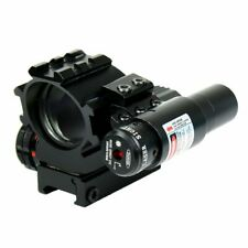 Reflex Red Green Dot Sight Scope With Red Laser Holographic Illuminated