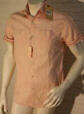 Leinene Kurzarm Herren-Freizeithemden & -Shirts mit Kentkragen