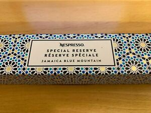 Nespresso Original Line Special Reserve Jamaica Blue Mountain One Sleeve of 10!